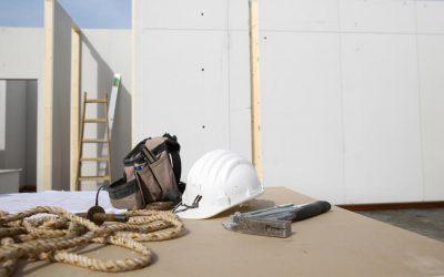 Placa de yeso laminado, la aliada de la construcción modular